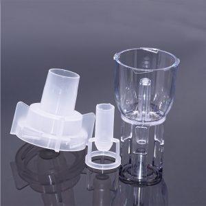 Nebulizador de inhalación para cuidado de la salud atomizado de Medicina de 6ML de 3 uds., nebulizador recargable para niños y adultos, rociador de taza de tanque automático